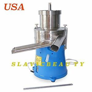 Cream Separator 500 L h Electric Stainless Steel 140 Gal hr