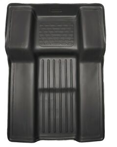 Husky Weatherbeater Walkway Black Floor Mats For 2007 2010 Escalade Tahoe Yukon