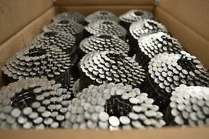 Stainless Steel Pneumatic Coil Nails 1 1 2 7200 Pcs Roofing Nail