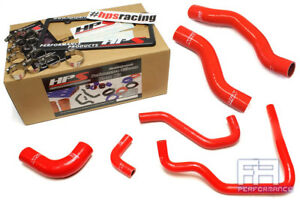 Hps Silicone Radiator Heater Hose For Toyota 89 95 4runner Pickup 2 4l Lhd Red