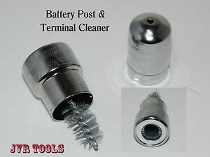 Battery Terminal Post Cable Cleaner Brush Hand Tool New