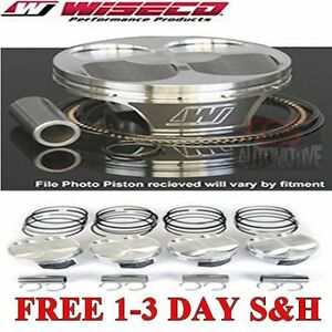 Wiseco Sbc Ls1 Vortec 5 3l Ft 2 2cc 10 25 1 Piston Shelf Stock Kit 3 780 Bore