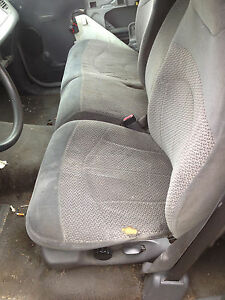 1999 Ford F 150 Pick Up Truck 60 40 Split Bench Seat Grey Gray Cloth Manual