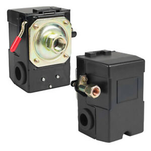 Air Compressor Pump Pressure Control Switch Valve 90 120psi On off Lever In Us