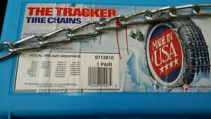 New Snow Tire Chains P215 55 17 P225 50 17 P225 55 17 P215 55 18 P205 55 18