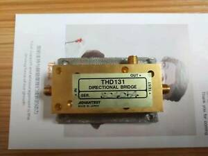 1pcs Used Good Advantest Thd131 10 4000mhz Directional Bridge c250 Dhl Or Ems