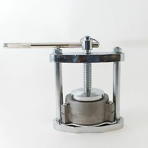Dental Laboratory Lab Manual Press Compress With One Aluminum Flask