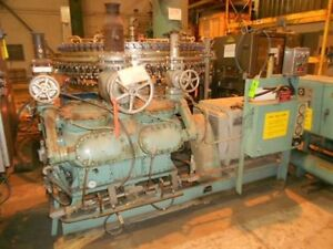 York Ammonia 200 Hp Compressor Package