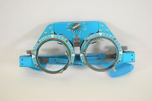 Blue Trial Lens Frame Glasses Japan Ophthalmology 278