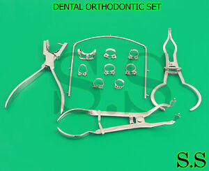 Dental Orthodontic Ainsworth Punch Rubber Dam Complete Set Brewer Ivory Dn 475