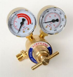 New Acetylene Gas Regulator Welding Cutting Torch Pressure Gauge Fits Victor