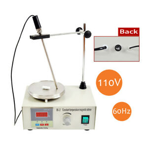 Magnetic Stirrer With Heating Plate 85 2 Hotplate Mixer Digital Display 220 110v