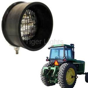 Led Round Tractor Light Bottom Mount