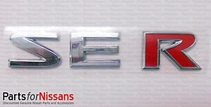 New Oem Genuine Nissan Sentra 2007 2012 Altima 2002 2006 Se r Rear Emblem