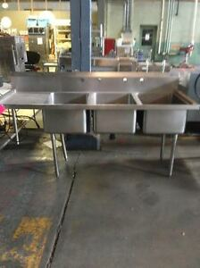 3 Compartment Sink 483