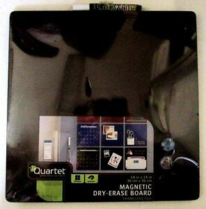 Quartet Magnetic Dry erase Calendar Hanging Board 14 X 14 new With Glo Write