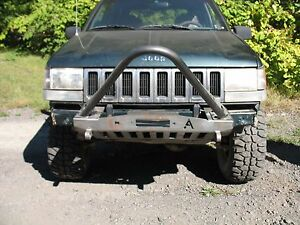 1993 98 Jeep Grand Cherokee Zj Shorty Winch Stinger Front Bumper