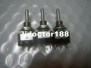 500 New Momentary on off on Spdt Toggle Switch free Hk Dhl
