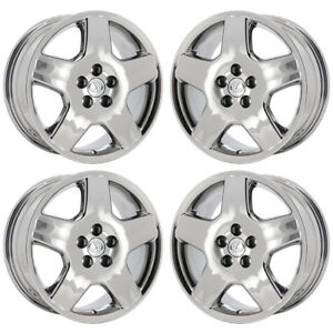 18 Lexus Ls430 Pvd Chrome Wheels Rims Factory Oem 2005 2006 Set 74179 Exchange