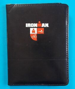 New Leeds Leather Ironman Padfolio With Letter Pad Black
