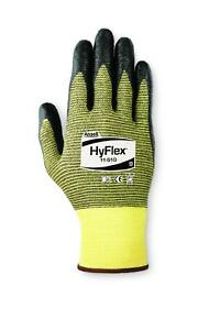 Ansell Hyflex 115100 Nitrile Palm Coated Gloves Size 10 12 Pair