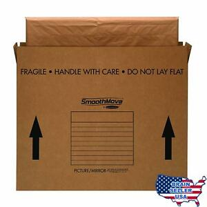 Bankers Box Smoothmove Tv picture mirror Moving Box Medium 37 X 4 X 27 Inches