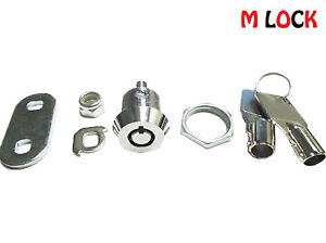 Lof Of 30 1 1 8 Tubular Cam Lock 1 Key Pull 90 Degree Turn 2400bl