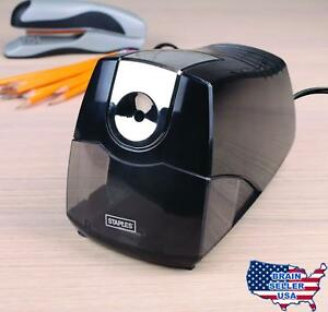 Staples Power Extreme Electric Pencil Sharpener Heavy duty Black New