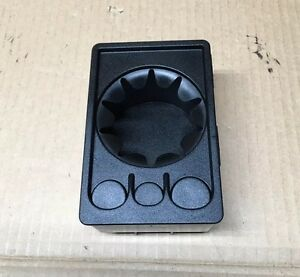 Saab 900 Oem Cup Holder Cupholder Change Coin Tray Black 4708459