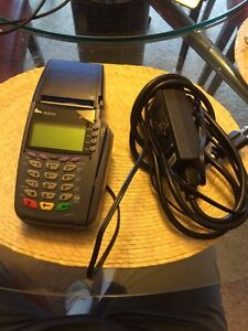 Verifone Vx510 Omni 3730 5100 Credit Card Terminal With Power Supply