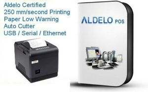 Aldelo Pos Pro Complete Restaurant Software Very Fast Thermail Printer