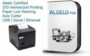 Aldelo Pos Pro Software W Fast Thermal Printer 250mm sec