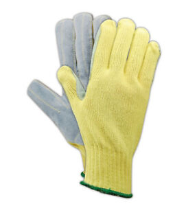 Magid Cutmaster Medium Weight Made With Kevlar Gloves Size 7 12 Pairs