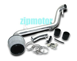 05 06 Scion Tc 2 4l L4 Cold Air Intake Induction Filter Kit Polish Stainless