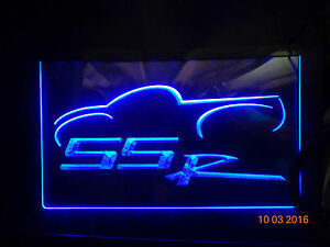 Ssr Sport Car Bar Beer Pub Club Nr Neon Light Sign