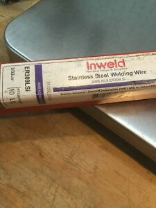 Inweld Stainless Welding Wire Rod 309l 3 32 X 36 Long X 10