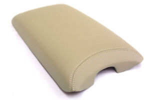 Center Console Armrest Real Leather Cover For Lexus Ls460 07 16 Beige