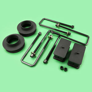 88 98 Chevy Gmc C1500 C2500 2wd Full Lift Kit Front 3 Rear 2 Shock Extender