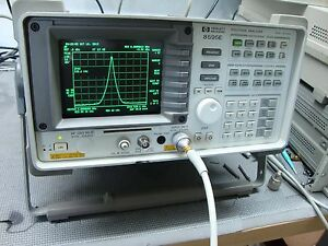 Hp Agilent 8595e Spectrum Analyzer Calibrated Refurbished 9khz 6 5 Ghz Opts