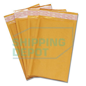 1 2000 00 5x10 Kraft Bubble Pad Mailers Self Seal Envelopes 5 x10 Secure Seal