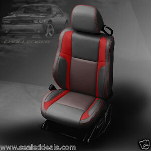 2015 2016 2017 2018 Dodge Challenger Sxt R T Custom Katzkin Leather Seat Covers