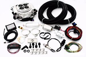 Holley Sniper Polished Efi Fuel Injection System Complete Master Kit 550 510k