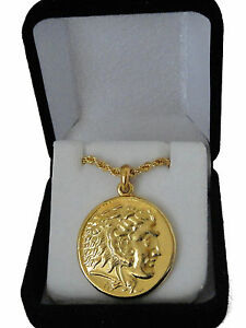 Alexander The Great Horse King Of Macedonia Pend Chain 46 G