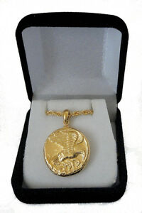 Nike Goddess Of Victory Eagle Pendant And Chain 9 G