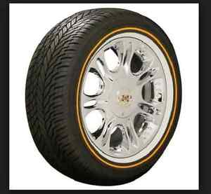 Vogue Tyre Tires 235 55r17 Mayo Mustard Set Of Four