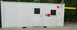 20 Cargo Shipping Storage Sea Container Engine Testing Cell