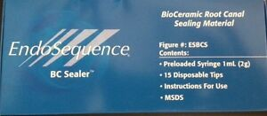Endosequence Bc Sealer Bioceramic Root Canal Sealing Material Cement Brasseler