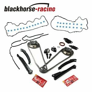 Timing Chain Kit Cam Phasers Cover Gasket 04 08 For Ford F150 Lincoln 5 4l 3v