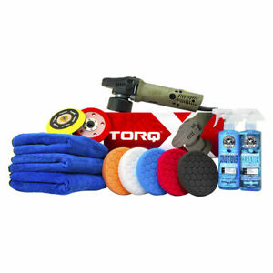 Chemical Guys Buf_209x Torq Torqx Complete Detailing Kit 13 Items