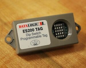 Datalogic Es200 Tag Dip Switch Programmable Tag Es200 Used